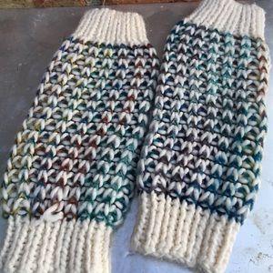 Accessories - Hand Knit Women's Leg Warmers